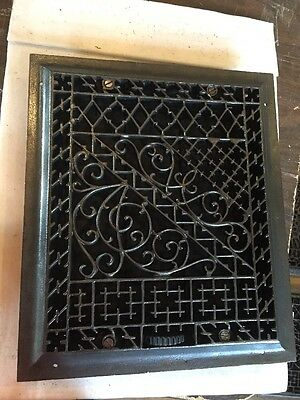 Antique Ornate Heating Grate Super Ornate  Tc 74