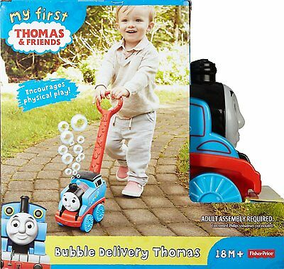 New Fisher-Price My First Thomas the Train Bubble Delivery Thomas  18m+