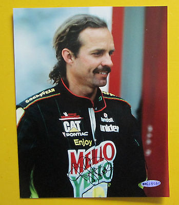 RARE KYLE PETTY AUO SIGNED 8x10 PHOTO WITH COA NASCAR BLOWOUT SALE