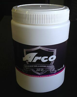 """ARCO Vinyl and Leather Cleaner """"World's Best"""" 1 Litre tub $$ back guarantee"""
