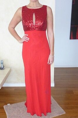 Formal Dress - Dazzling Red (size 10)
