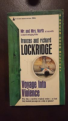 "Frances & Richard Lockridge, ""Voyage into Violence,"" 1963, Pyramid R-884, Vg+, 1"