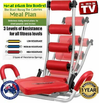 3 in 1 AB Rocket Twister Abdominal Workout Exercise Gym Fitness+DVD+Meal Plan