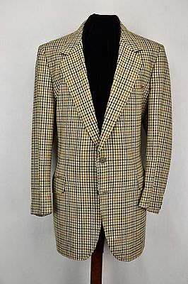 "Vintage Aquascutum Scottish Tweed Jacket 44"" Short"