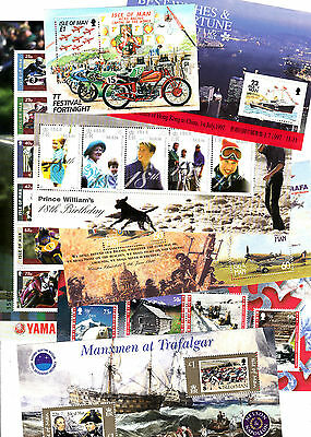 Isle of Man Minisheets and sets Multi listing your choice