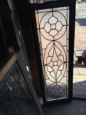 Sg 578 Antique Victorian Style Transom Glass Window