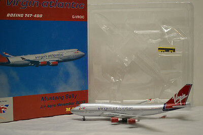 Magic Models Virgin Atlantic 747-400 Ruby Tuesday Sample