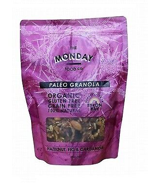 Monday Food Co. Paleo Granola Hazelnut, Fig & Cardamon 300g
