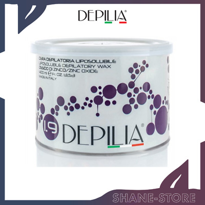 Depilia Cera Depilatoria In Barattolo Liposolubile Ossido Di Zinco 400 Ml