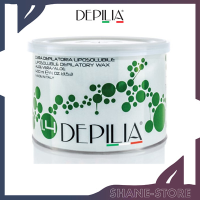 Depilia Cera Depilatoria In Barattolo Liposolubile Aloe Vera 400 Ml