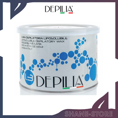 Cera Depilatoria In Barattolo Depilia Liposolubile Azulene 400 Ml