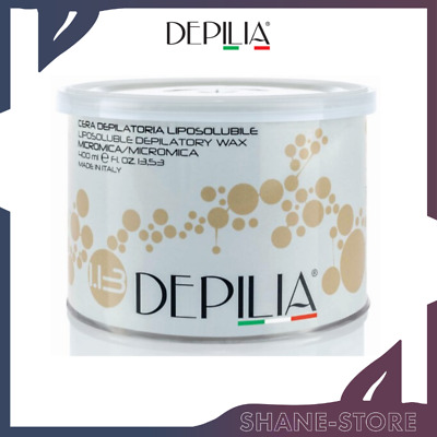 Depilia Cera Depilatoria In Barattolo Liposolubile Micromica 400 Ml
