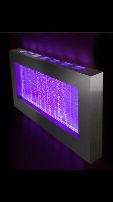 "WALL BUBBLE PANEL 39""x22"" Color Lights , Remote Ctrl $100 OFF"