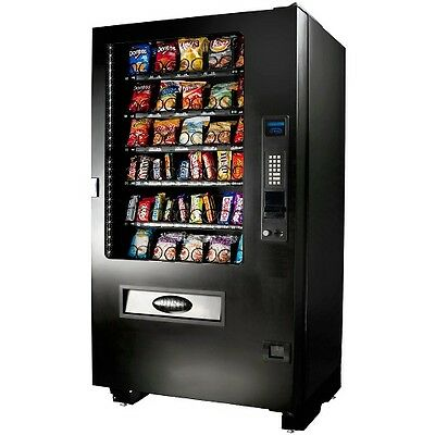 Seaga 40 Sellection Vending Machine Holds 500 Items Anti Theft Chips Candy Food