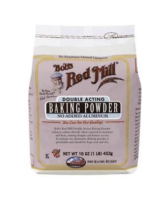 Bob's Red Mill Double Acting Baking Powder (Aluminum Free) 453g