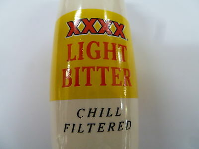 Xxxx Light Beer Andale Tap Handle .. Excellent Condition
