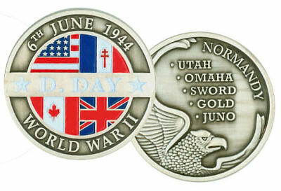 "COINS ""D.DAY 6th JUNE 1944"""