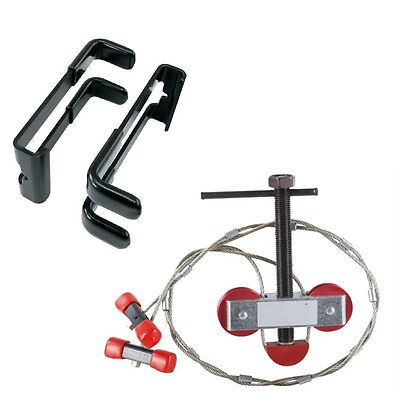 Portable compound bow press string replacement destringing tool Adapter Included