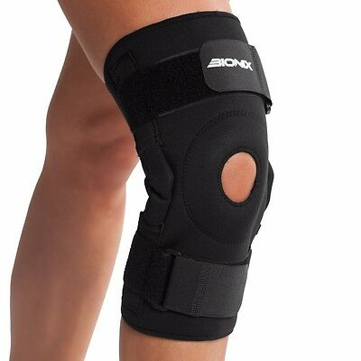 Knee Brace Hinged Adjustable Neoprene Patella Support Injury Arthritis Sport NHS