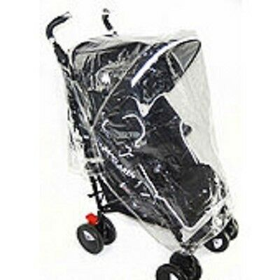 Baby Stroller Raincover Universal Pushchair Pram Buggy Rain Cover Transparent