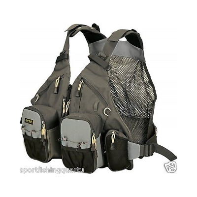 Gillet Fish Jacket Rature Guidemaster Pro Tech Pack Taglia Unica Regolabile
