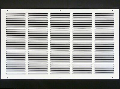 "25w"" x 16h"" RETURN GRILLE - HVAC Dcut Cover - Easy Air FLow - Flat Stamped Face"