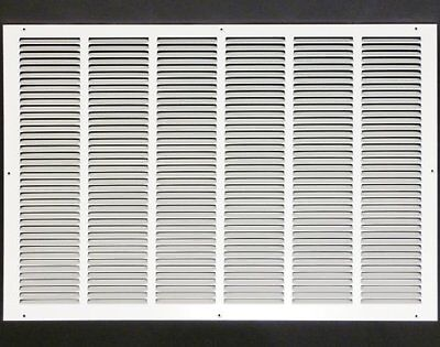 """30w"""" x 20h"""" RETURN GRILLE - HVAC Dcut Cover - Easy Air FLow - Flat Stamped Face"""