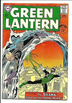 GREEN LANTERN # 28 (THE SHARK app. APR 1964), FN