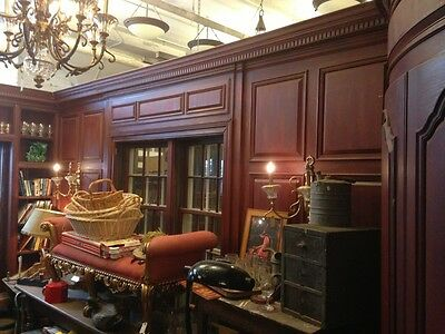 Architect Edwin Lundie Entire Period Room Built In's and Paneling Minnetonka