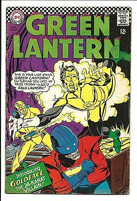 GREEN LANTERN # 48 (GOLDFACE app. OCT 1966), FN