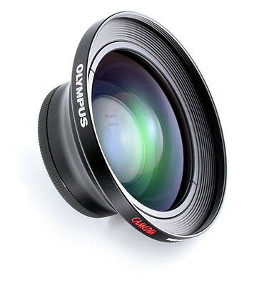 NEW Genuine Olympus 0.8x Wide Converter Lens WCON-08B (200693) for E10 E20