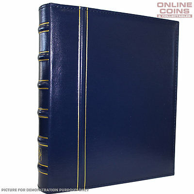 Lighthouse Classic Vario Album BLUE - For Banknotes and Stamps - No Slipcase