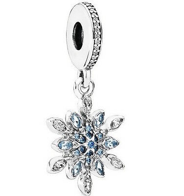 FROZEN STAR 925 Sterling Silver Solid European Dangle Charm Bead for bracelet