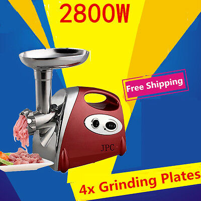 2800w New Kitchen Multifunction Electric Machine Meat Grinder AUTO Mincer