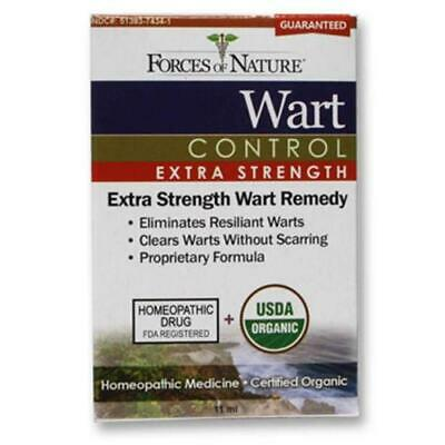 Forces Of Nature Organic Wart Control Extra Strength-11 Ml