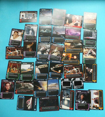 Huge Job Lot Star Wars Trading Cards Collectables