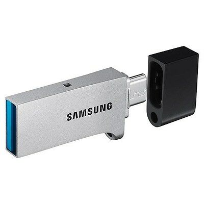 Samsung Duo 128GB USB 3.0 Flash Stick Pen Memory Drive - Black