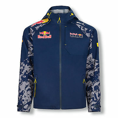 Red Bull Racing F1 Official Teamline Rain Jacket - 2016 - Mens - Clearance