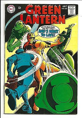 Green Lantern # 62 (July 1968), Fn/vf