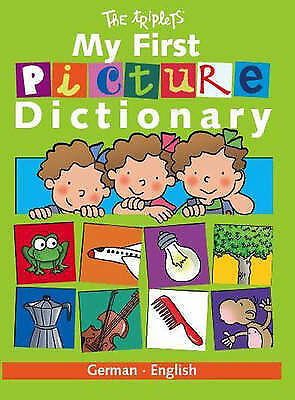 Carril, Isabel German/English (My First Picture Dictionary) Very Good Book