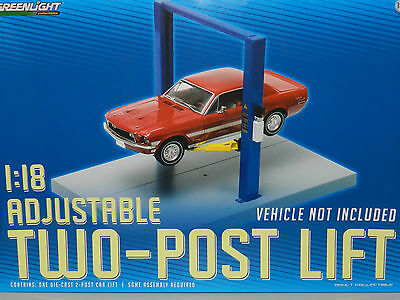 Greenlight Collectibles 1/1/8 Two Post Lift (Hoist) Great for dioramas