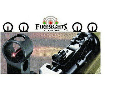 SKS PEEP SIGHT w FIBER OPTIC FRONT SIGHT   New in Retail Package