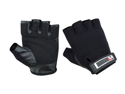Weight Lifting Leather Gloves Gym Fitness Crossfit Training Bodybuilding Workout