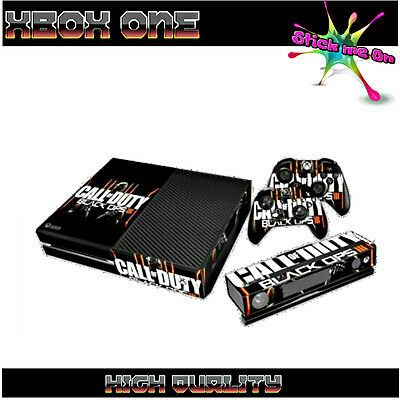 BLACK OPS 3 | Sticker Skin Kit Cover for XBOX ONE Console 2 Remotes Kinect