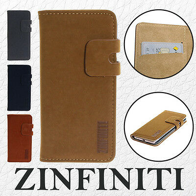 Soft Leather Flip Vintage Luxury Wallet Slim Case Cover For iPhone 6s / 6s Plus