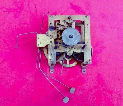Junghams Cottage Type Alarm Ting Tang Movement Spares Or Repair With Dial