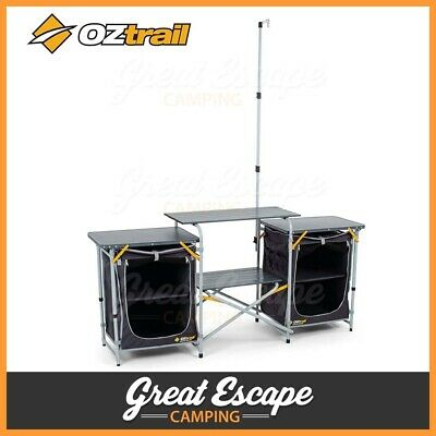Oztrail Camp Kitchen Double Pantry
