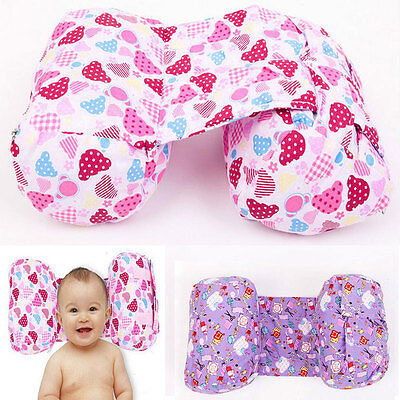 HOT Cotton Newborn Baby Safety Sleep Positioners Head Anti Roll Pillow