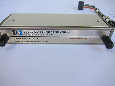 Agilent / HP 33323K Programmable Step Attenuator OPT H90