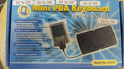 Mini PDA Keyboard for Palm V and Vx PDA